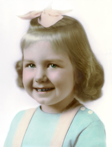 Photo Restoration on child